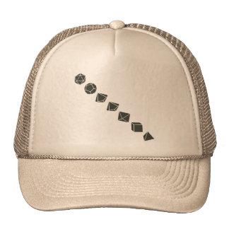 Diagonal Dice (Dark) Trucker Hat