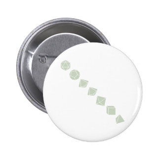 Diagonal Dice (Light) 2 Inch Round Button