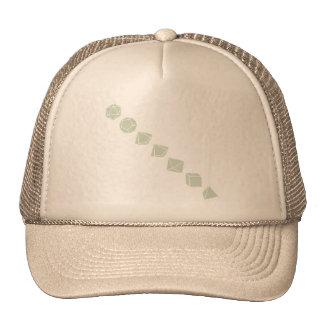 Diagonal Dice (Light) Trucker Hat