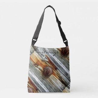 diagonal driftwood grey Thunder_Cove Tote Bag