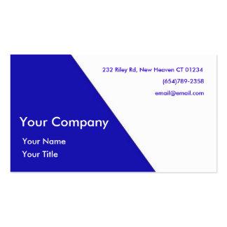 Diagonal Elegant Business Card
