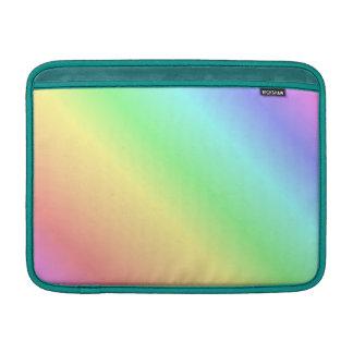 Diagonal en colores pastel de la pendiente del fundas MacBook