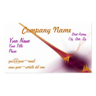 Diagonal Gold Blast Business Card