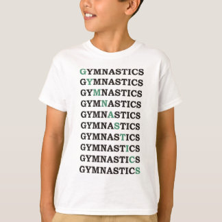 Diagonal Gymnastics T-Shirt