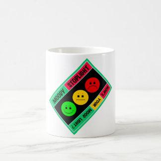Diagonal Moody Stoplight Logo Coffee Mug