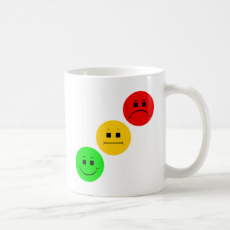 Diagonal Moody Stoplight Sans Stripe Coffee Mug