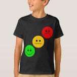 Diagonal Moody Stoplight Sans Stripe T-Shirt