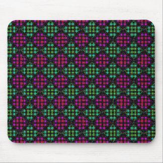 Diagonal Mosaic Tile Mouse Pad 2