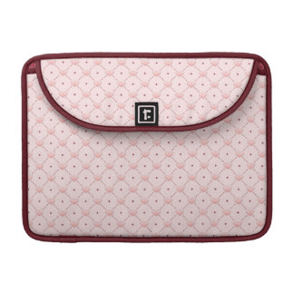 diagonal pattern pink candy hearts sleeves for MacBook pro