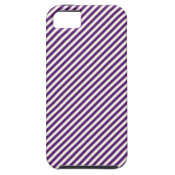 Diagonal Purple Stripes Pattern Gifts iPhone 5 Cover