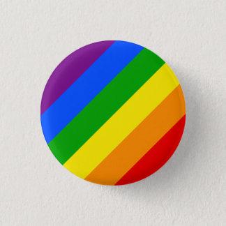 """DIAGONAL RAINBOW"" 1.25-inch Button"