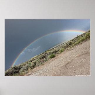 Diagonal Rainbow Posters