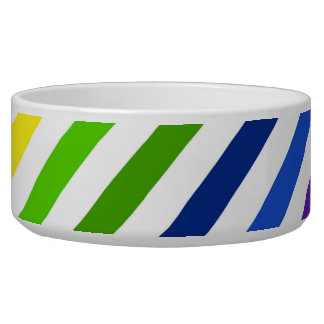 Diagonal Rainbow Stripes.jpg Bowl
