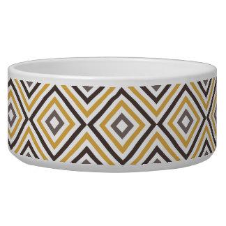 Diagonal Squares Bowl