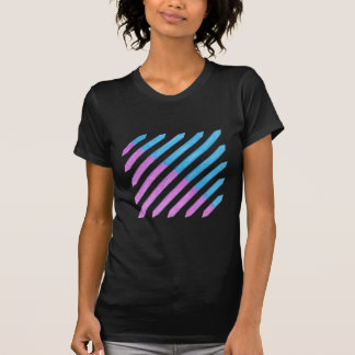 Diagonal Stripes, in pink and turquoise, shirts
