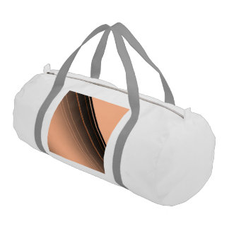 diagonal stripes,peach gym duffle bag