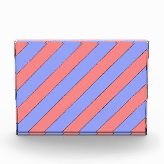 diagonal stripes pink and purple award