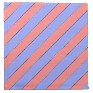 diagonal stripes pink and purple napkin