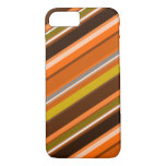 "[ Thumbnail: Diagonal Stripes With ""Earthy"" Colors Case ]"