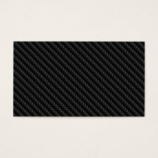 Diagonal Tightly Woven Carbon Fiber Texture Business Card
