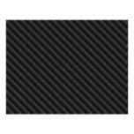 """Diagonal Tightly Woven Carbon Fiber Texture 8.5"""" X 11"""" Flyer"""