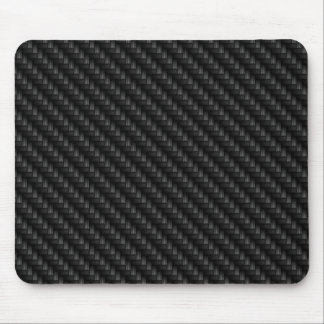 Diagonal Tightly Woven Carbon Fiber Texture Mouse Pad
