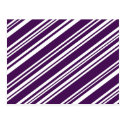 Varied Purple and White Stripes