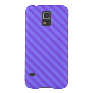Diagonal Violet Purple Stripes Galaxy S5 Cover