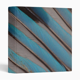 Diagonal Wing Feather Design Binder