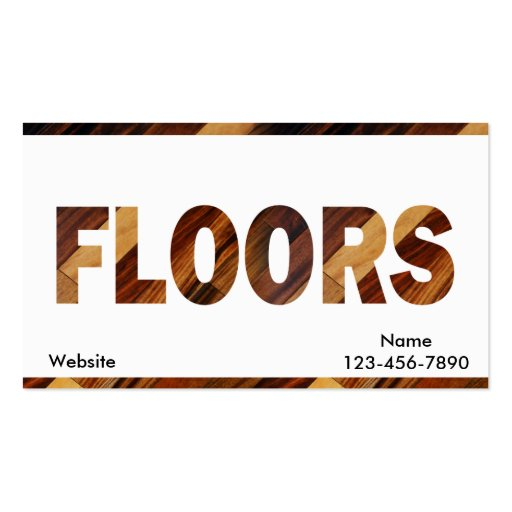 Flooring Business Card Templates Page2 Bizcardstudio