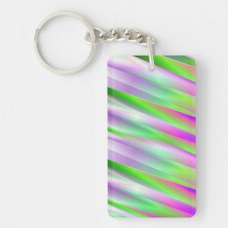 Diagonals Keychain