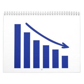 Diagram chart loss calendar
