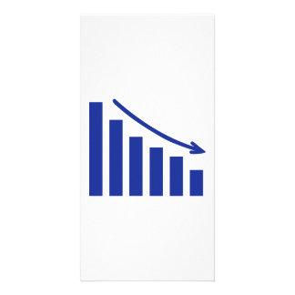 Diagram chart loss photo card