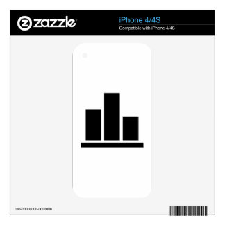 Diagram Chart iPhone 4 Decal