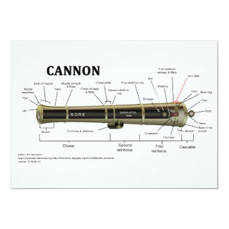 Diagram of a Cannon Card