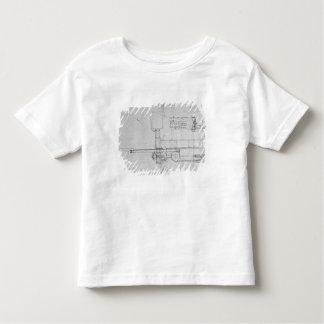 Diagram of a Mechanical Bolt Toddler T-shirt