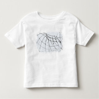 Diagram of a mechanical wing toddler t-shirt