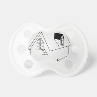Diagram of dormer and gable window pacifier