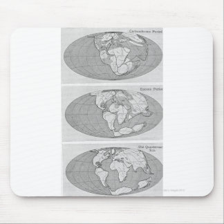 Diagram of Earth Mouse Pad