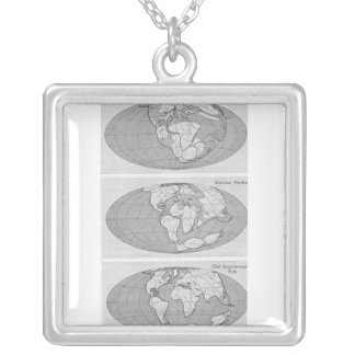 Diagram of Earth Silver Plated Necklace