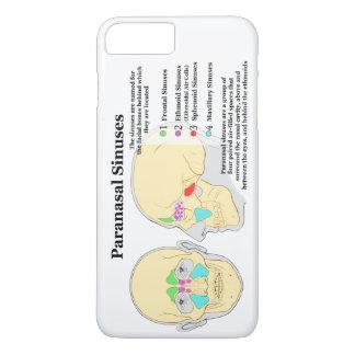 Diagram of Human Paranasal Sinuses iPhone 8 Plus/7 Plus Case