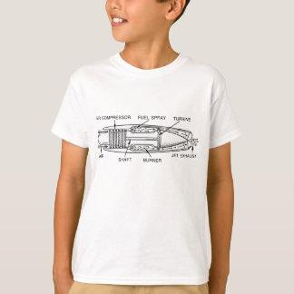 Diagram of Jet Engine T-Shirt