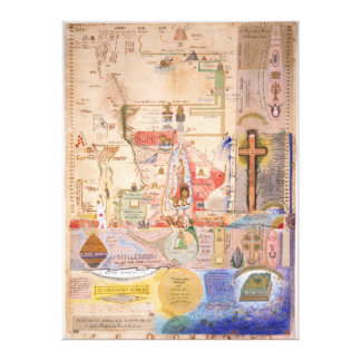 Diagram of the Apocalypse by Henry Dunant Canvas Print