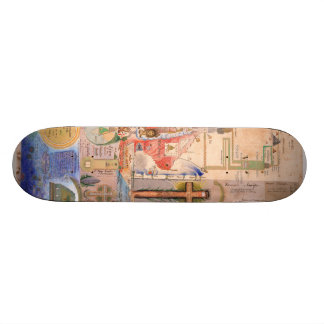 Diagram of the Apocalypse by Henry Dunant Skateboard