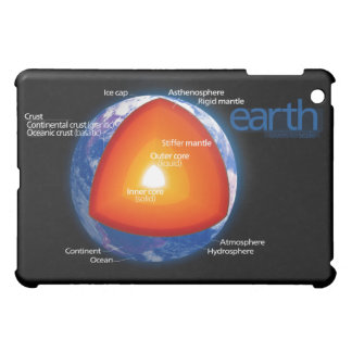 Diagram of the Layers of Planet Earth iPad Mini Case