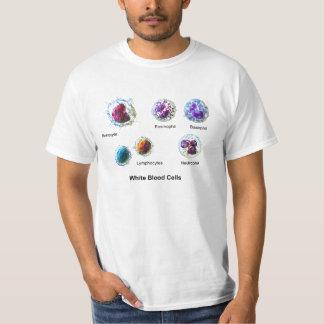Diagram of White Blood Cells Leukocytes T-shirt