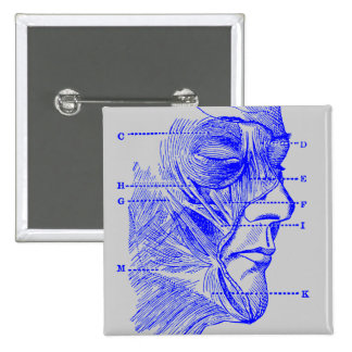 Diagrama de la cara pin cuadrado