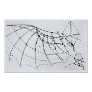 Diagrama de un ala mecánica impresiones