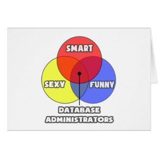 Diagrama de Venn. Administradores de base de datos Tarjeton