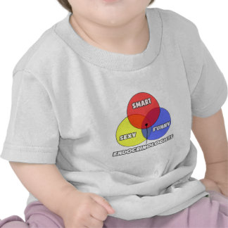 Diagrama de Venn. Endocrinólogos Camisetas